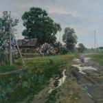 «После дождя» 2012. холст, масло, 90х70