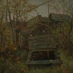 «Колодец» 1993. холст, масло, 100х80