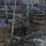 «Подснежники» 2010. холст, масло 100х90