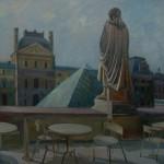 «Утро Лувра» 2011. холст, масло, 110х90
