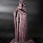 «Епископ Питирим», высота 29 см, 2009, резьба (липа), морилка, мастика