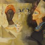 «Жемчужина Египта» 2007. бумага, гуашь, 60х80