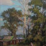 «Летний сюжет» 2010, холст, масло, 45х20