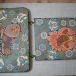 Декоративное панно «Русские обереги», (роспись по дереву)