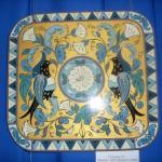 Декоративное панно «Вьюнок», Северная Двина (роспись по дереву)