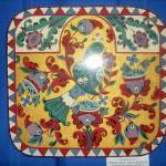 Декоративное панно «Птица», Северная Двина (роспись по дереву)